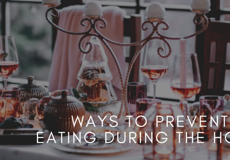 How to avoid stress eating!