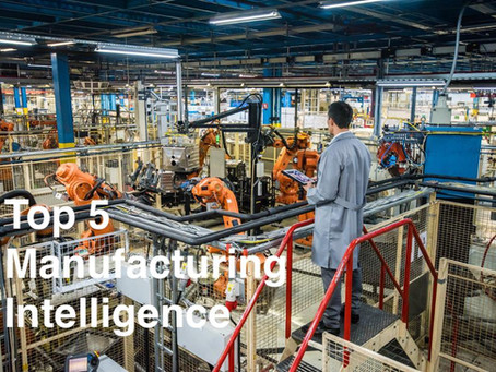 Top 5 Manufacturing Intelligence Solution Provider 2018