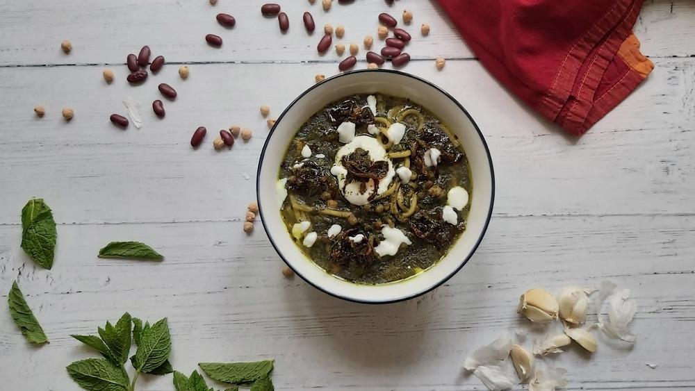Persian Noodle Broth - Aash-e-Reshte