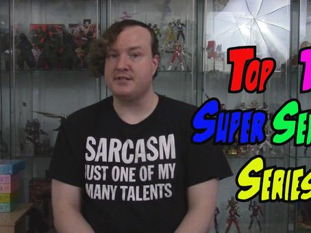 Kaiju no Kami's Top 11 Super Sentai Series.