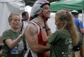 Ironman, sunscreen, volunteers