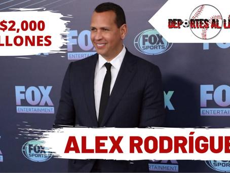 Alex Rodríguez el ex-jugador de Mlb con más dinero e inversiones en toda la historia