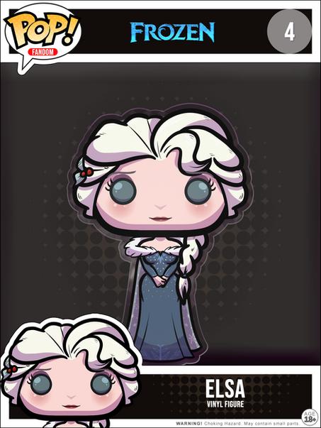Elsa Winter Dress POP