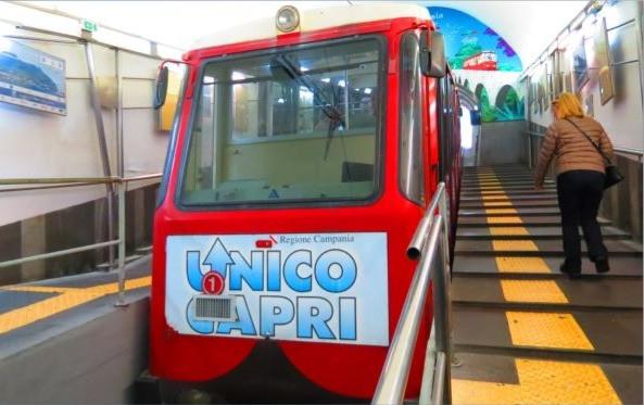 Funicular de Capri - Sensi in Viaggio