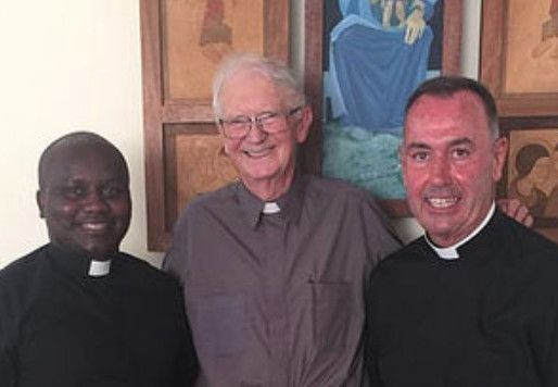 Happy Christmas from Fr Brendan, Fr Aloysius and Fr Laurence!