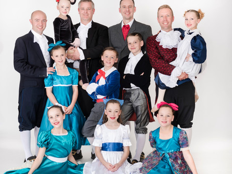 NCS dancing dads & principal perform The Nutcracker