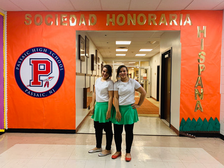 Passaic HS Chapter Celebrates Hispanic Heritage!