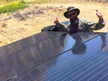 We Get By With a Little Help From Our Friends : Our First Solar Project!
