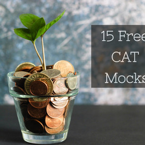 15 Free CAT Mock Tests 2020 - They are Actually Free!