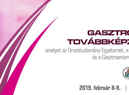 XIX. Gasztroenterológiai Továbbképző 2019.02.08.-09. Budapest
