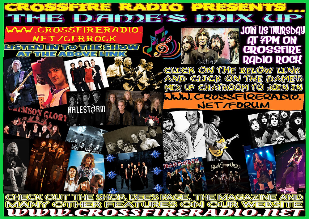 the dames mix up on crossfire radio