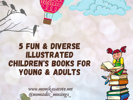 5 Fun & Diverse Illustrated Children's Books for Young and Adults