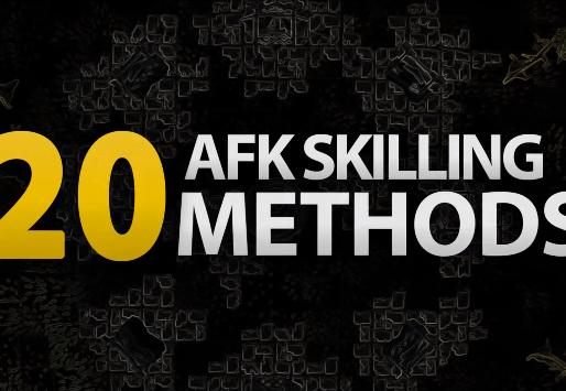 20 Very AFK Skilling Methods in OSRS