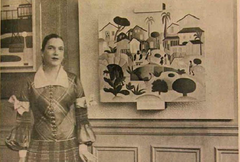 """tarsila do amaral exposição em Paris, na Galerie Percier"""""""