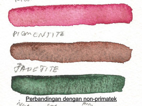 Daniel Smith Primatek Set (6 Colours) Swatches