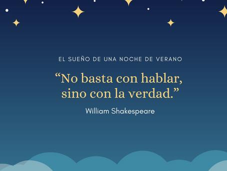 Una sabia frase de William Shakespeare