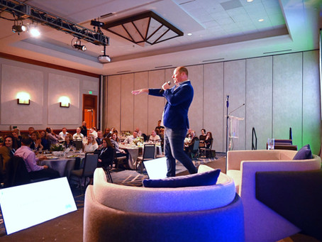 Another great personalized Corporate Comedy Show