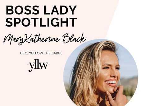 Boss Lady Spotlight | MaryKatherine Black