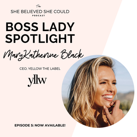 Boss Lady Spotlight | MaryKatherine Black