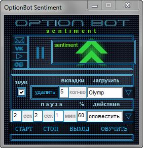 OptionBot Sentiment