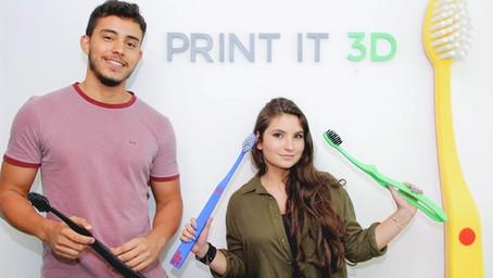Impressão 3D de grande porte - Projeto Edel White