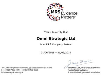 Market Research Company Partner