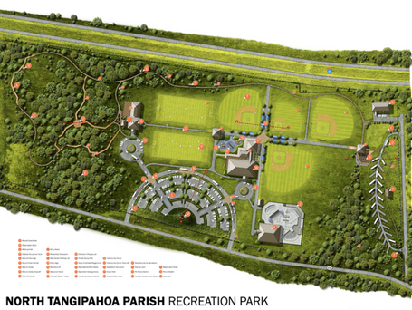 North Tangi Park Update