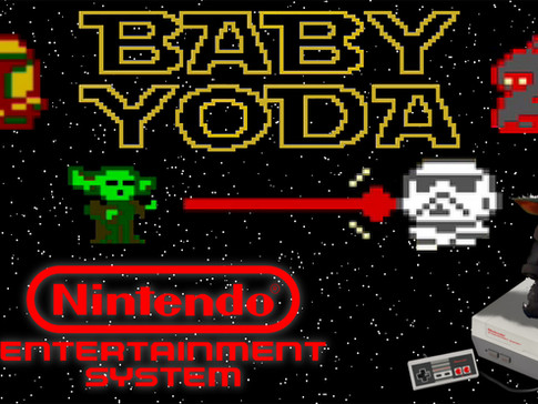 Baby Yoda for the NES!