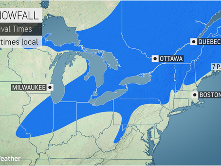 Storm pelting Northeast with rain, snow to usher in pattern change