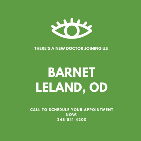 Meet Our New Doctor!
