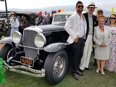 CLOSED AND CLASSY: 1929 DUESENBERG TAKES FIRST-IN-CLASS AT PEBBLE BEACH