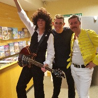 Peter and Seth from Majesty Queen Tribute with Dale