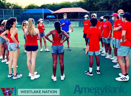 Chap Tennis Win Over Austin