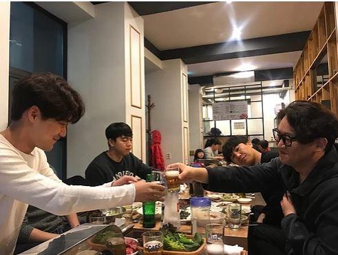 2019.03.11 상훈선배 랩장 퇴임식 및 종언선배 랩장 취임식
