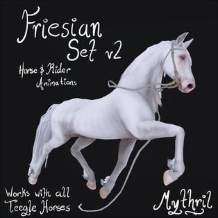 *~Mythril~* Friesian Animation Set V2
