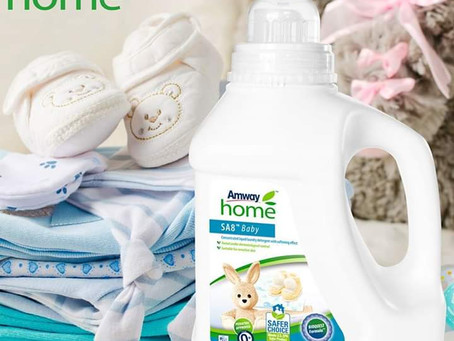 BABY Konzentriertes flüssiges Waschmittel mit weichmachender Wirkung von AMWAY HOME™ SA8™