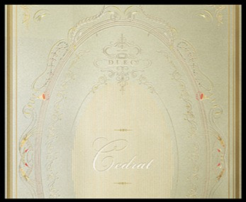 Branding for Parlour collection of fragranced candles, based on whimsical 19th-century candy parlours, 2005. Creative director: Douglas Little; client: D.L. & Co.