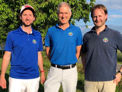 Start für die AK30 in der Bayerischen Golf Liga