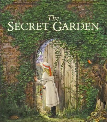 Mary Lennox enters the Secret Garden