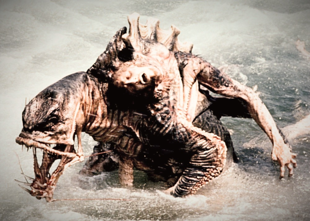 FILE PHOTO: HomoAquaticus in LEVIATHAN (1989)  Image: movie-monster.fandom.com