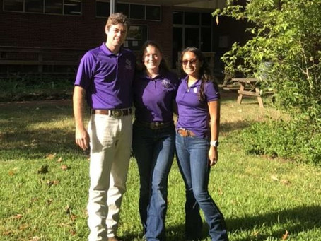 The Wildlife Society Student Chapter at Stephen F. Austin State University Joins the Texas Alliance!