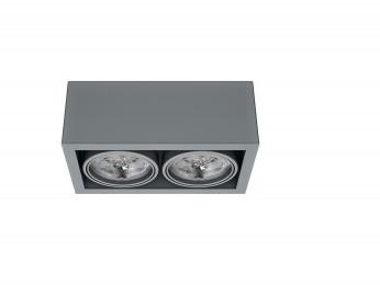 Iluminação Tromilux marca portuguesa fabricante iluminação produto 1197 Luminaria aplique Saliente duplo