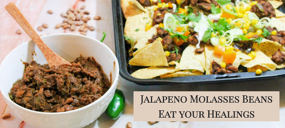 jalapeno and molasses beans cross between baked beans and refried beans