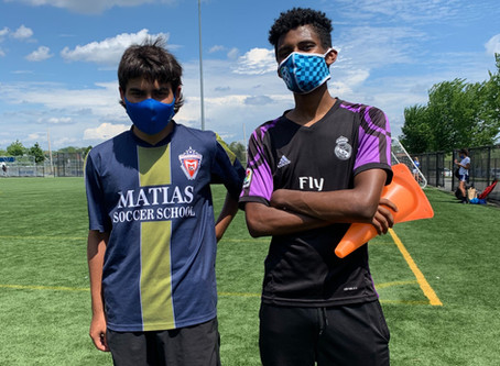 Summer at Soccer Without Borders Boston