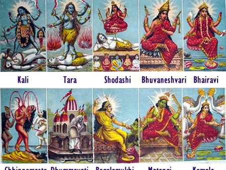 10 Wisdom Goddesses -Mala Series