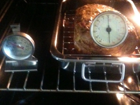 Slow cooking Sukade uit de oven