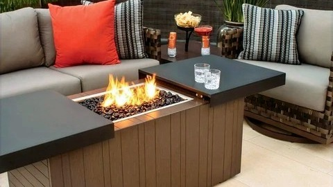 Value By Adding An Outdoor Gas Fire Pit