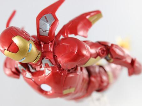 ML Marvel STUD10S: Iron Man MK VII