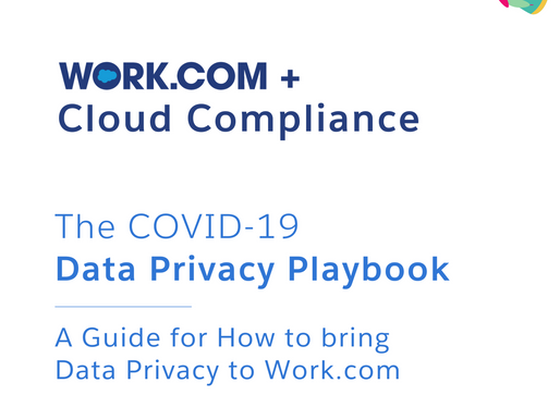 Work.com Cloud Compliance Data Privacy Playbook
