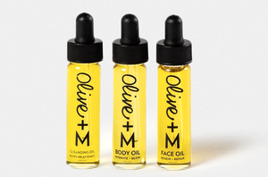 olive + m face oil set